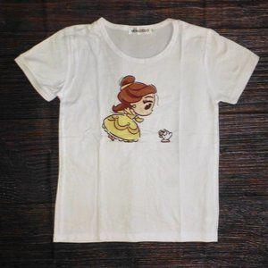 Beauty Beast Belle Girls Short Sleeve Shirt